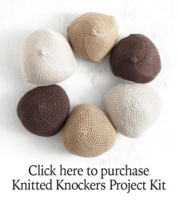 Purchase Knitted Knockers Kits